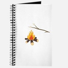 Campfire with marshmallows Journal
