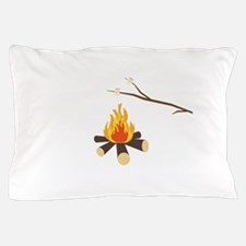 Campfire with marshmallows Pillow Case