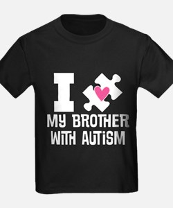 Autism Brother Support T-Shirt