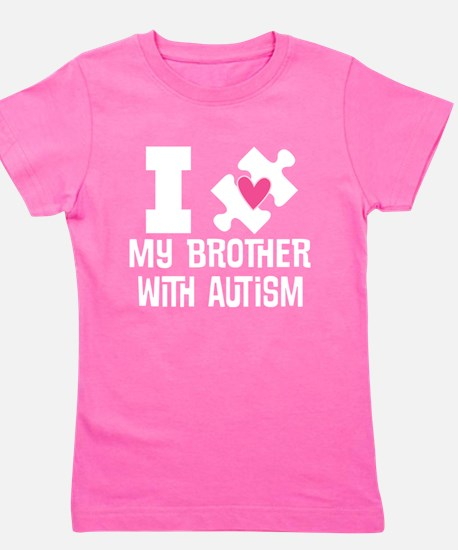 Autism Brother Support Girl's Tee