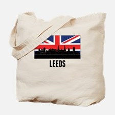 Leeds British Flag Tote Bag