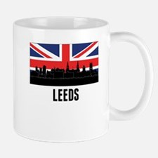 Leeds British Flag Mugs