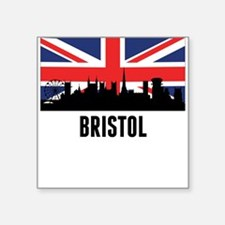 Bristol British Flag Sticker
