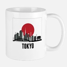 Tokyo Japanese Flag Mugs
