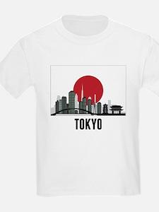 Tokyo Japanese Flag T-Shirt