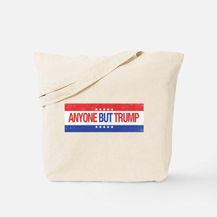 Anyone But Trump Tote Bag