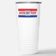 Anyone But Trump Travel Mug