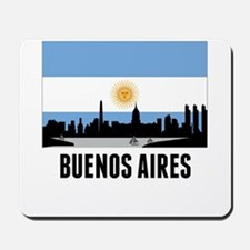 Buenos Aires Argentinian Flag Mousepad