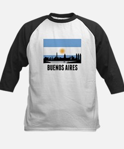 Buenos Aires Argentinian Flag Baseball Jersey