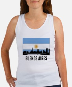 Buenos Aires Argentinian Flag Tank Top