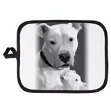Pit bull Oven Mitts and Potholders