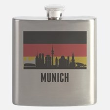 Munich German Flag Flask