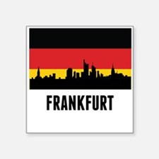 Frankfurt German Flag Sticker