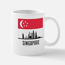 Singapore Singaporean Flag Mugs