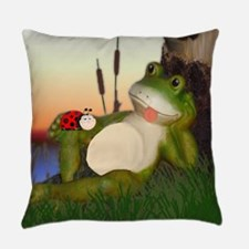 Unique Bugs life Everyday Pillow