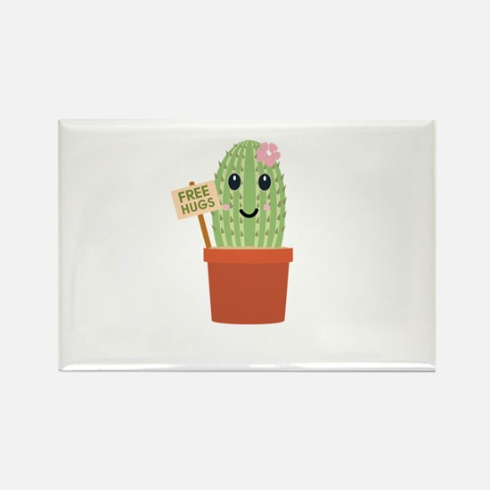 Cactus free hugs Magnets