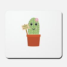 Cactus free hugs Mousepad