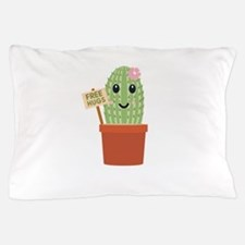 Cactus free hugs Pillow Case