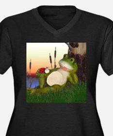 The Frog and the Ladybug Plus Size T-Shirt