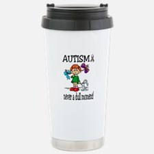 Funny Autism awareness month Travel Mug