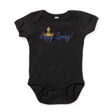 Funny Some budgie loves me Baby Bodysuit