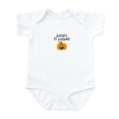 Auntie's lil pumpkin Infant Bodysuit