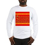 Season Greetings Tristar Ribb Long Sleeve T-Shirt