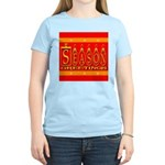 Season Greetings Tristar Ribb Women's Light T-Shir