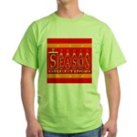 Season Greetings Tristar Ribb Green T-Shirt