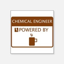 Chemical Engineer Powered by Coffee Sticker