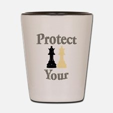 Protect Your Queen Shot Glass