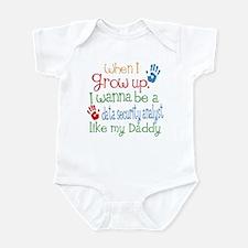 Data Security Analyst Like Daddy Infant Bodysuit