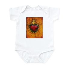 Sacred Heart 7 Infant Bodysuit