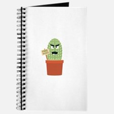 Angry cactus with free hugs Journal