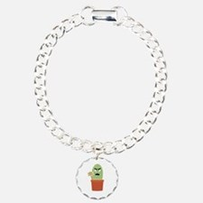 Angry cactus with free h Bracelet