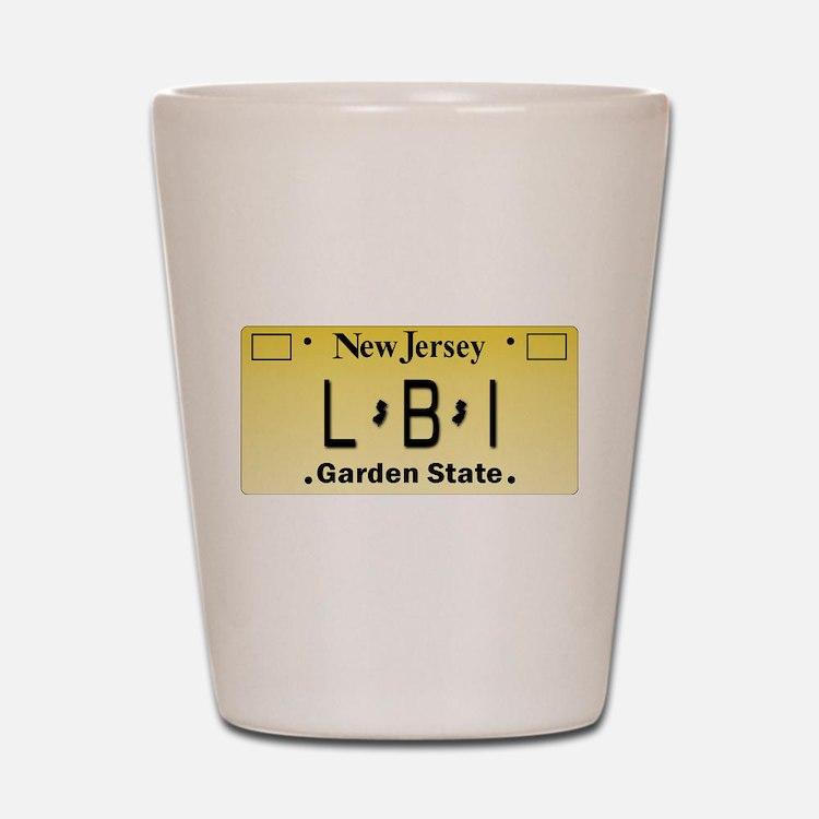 LBI NJ Tag Giftware Shot Glass