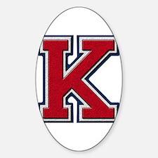Cool K. kay Sticker (Oval)