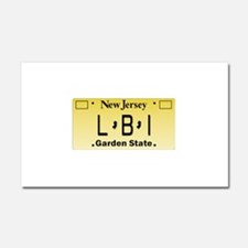LBI NJ Tag Giftware Car Magnet 20 x 12