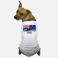 Sydney Australian Flag Dog T-Shirt