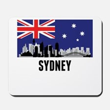 Sydney Australian Flag Mousepad