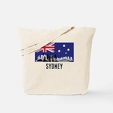 Sydney Australian Flag Tote Bag