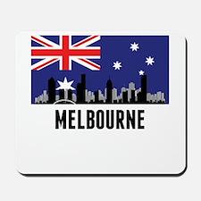Melbourne Australian Flag Mousepad
