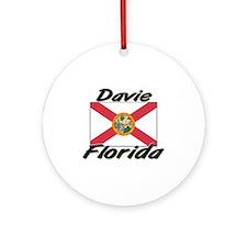 Davie Florida Ornament (Round)