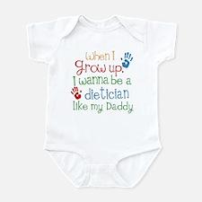 Dietician Like Daddy Infant Bodysuit