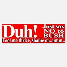 """Jeb Bush the """"smart"""" brother? Bumper Bumper Bumper Sticker"""