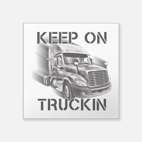 Keep On Trucking Sticker