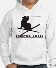 Ski Crested Butte COLORADO Hoodie
