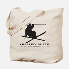 Ski Crested Butte COLORADO Tote Bag