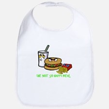 the Not So Happy Meal Bib