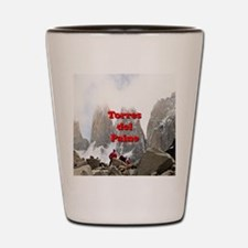 Funny Hiking rocks Shot Glass